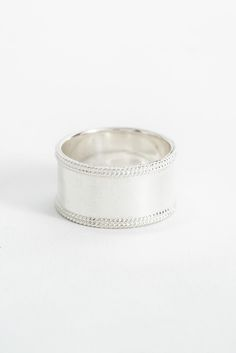 Anna Beck Silver Smooth Band Ring | South Moon Under