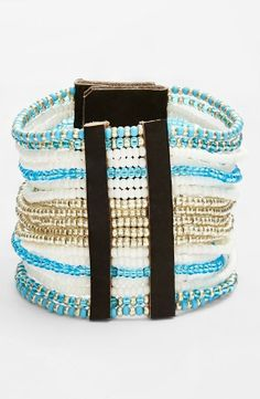 Beautiful! Me to We Artisans Beaded Unity Bracelet. 50% of the proceeds benefit Free the Children.