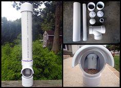 A great outdoor feeder idea