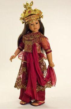 Азиатские принцессы от Heidi Plusczok / Коллекционные куклы Heidi Plusczok dolls / Бэйбики. Куклы фото. Одежда для кукол