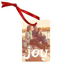 Hang a photo memory. Gift this ornament to someone you love and share a moment they will hang every holiday season. #peartreegreetings #ornaments #giftideas
