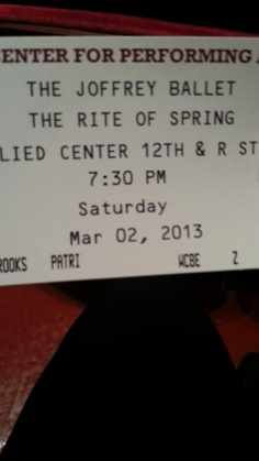 The Joffrey Ballet The Rite of Spring