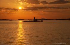 Midnight Sun in Norway by Ole-Henning Svendsen on 500px