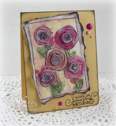Paint Dauber Poppies