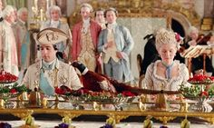 marie antoinette food | ... Marie Antoinette would pick at food, preferring a second meal be