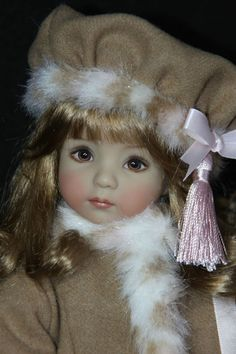 "~5-PIECE WINTER ENSEMBLE FOR 13"" EFFNER LITTLE DARLING DOLLS by SHERRY~ #DiannaEffner"