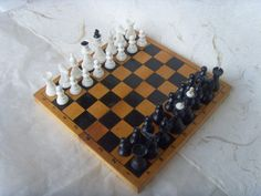 Soviet vintage chess Made in USSR in 1980s by Astra9 on Etsy