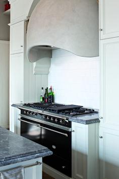 Matte Black Nickel Lacanche Sully French Stove