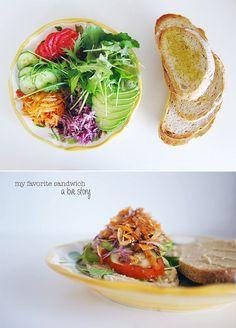 my veggie favorite sandwich by ohdeardrea