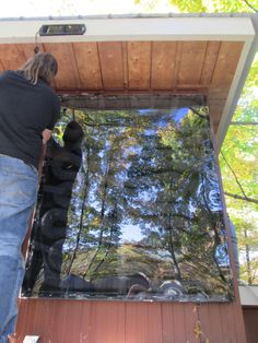 Installing a solar furnace - lessons learned!