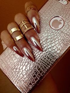 Chrome Nails! New nail trend