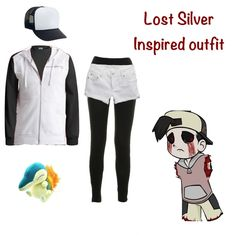 Outfit inspired by the Pokemon Lost Silver creepypasta.