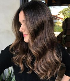 20 must-try subtle balayage hairstyles hairdini hair, hair c Soft Balayage, Copper Balayage, Auburn Balayage, Hair Color Balayage, Subtle Balayage Brunette, Hair Color Auburn, Auburn Hair, Finger Wave Hair, Finger Waves