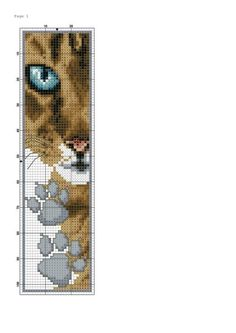 New Embroidery Cat Pattern Watches Ideas Cross Stitch Books, Cross Stitch Bookmarks, Cross Stitch Animals, Cross Stitch Charts, Cross Stitching, Cross Stitch Embroidery, Embroidery Patterns, Funny Cross Stitch Patterns, Cross Stitch Designs