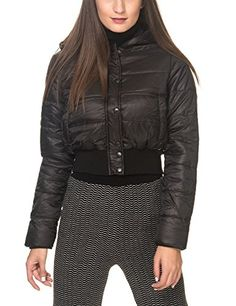 Sh By Silvian Heach Women's Biscaglie Women's Black Jacket in Size M Black