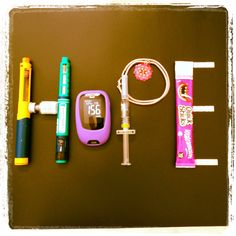 HOPE. Lets hope that one day soon these diabetes care supplies are obsolete.