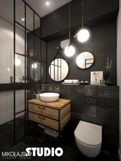 Decoration, Bad, Mirror, Bathroom, Loft, Interiors, Furniture, Home Decor, Washroom