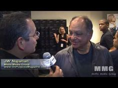 Cheech Marin of Cheech and Chong talks to me about his support for the Hispanic Scholarship Fund.
