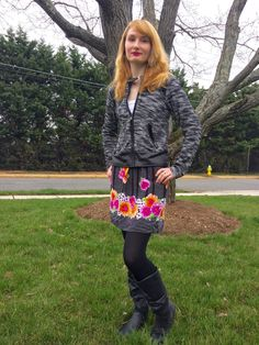 Dots N Bows: Mixing Patterns #Blogger #Blogging #FBlogger #BBlogger #Floral #SpringFashion #BrightLip #OOTD