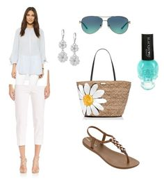 """summer cookout"" by bostonhibiscus on Polyvore featuring Piazza Sempione, TIBI, IPANEMA, Tiffany & Co., Kate Spade and Napier"