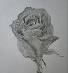I love flowers, so I made a rose..