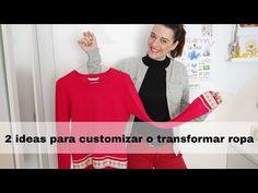 DIY Costura Cómo customizar ropa con cintas y cordón, sudadera y jersey - YouTube Youtube, Chanel, Diy, Sweatshirts, Jackets, Sewing Lessons, Bricolage, Handyman Projects, Youtubers