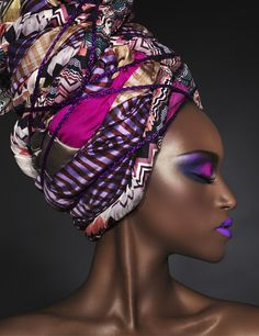 The Vision: Black|Up Paris' latest ad campaign for 2014. Photo Credit:Black|Up Cosmetics