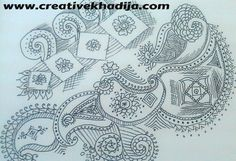 My freehand designs & patterns;  http://creativekhadija.com/2013/06/life-is-colorfulbeautiful/