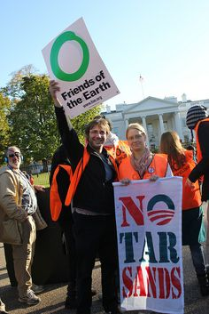 Circle the White House to Stop Keystone XL 11-6-11 (I was there!)