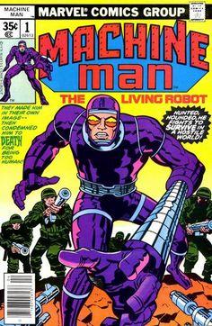 Machine Man # 1 by Jack Kirby & Frank Giacoia