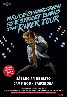 Las entradas para el concierto de Bruce Springsteen and The E Street Band en Barcelona ya están a la venta