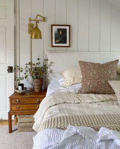 Home Bedroom, 1950s Bedroom, Basement Master Bedroom, Blue Master Bedroom, Farmhouse Master Bedroom, My New Room, Beautiful Bedrooms, Cozy House, Room Inspiration