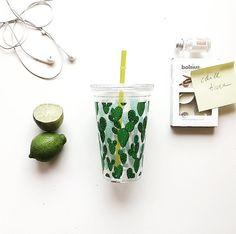 🌵▫️ Cactus style. Lemonade cup.