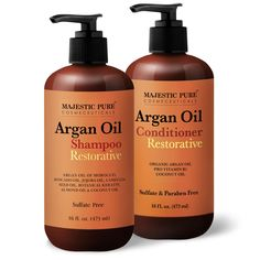 Argan Oil Shampoo and Argan Oil Conditioner Set is made with Organic Moroccan Argan Oil, expertly formulated for all hair types including color treated hair. Our combo set is safe for daily use for both men and women. Organix Shampoo, Argan Oil Conditioner, Purple Shampoo And Conditioner, Oil Safe, Pure Argan Oil, Natural Shampoo, Natural Hair, Benefits Of Coconut Oil