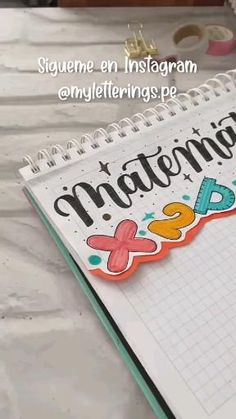 Calligraphy Cards, Bullet Journal School, Pasta Flexible, Sea, Teaching, Lettering, Memes, Creative Notebooks, Creative Gifts