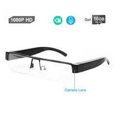 This is due to the fact that there are different camera glasses that you will now find on the market though not all will provide excellent services. Spy Glasses, Leather Repair, Hidden Camera, Best Camera, Cool Gadgets, Camera Lens, How To Look Better, Technology, Nice