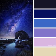Shades Of A Starry Night Sky (Photo Credit • 500px.com/goff_kitsawad) #chasingcolor #colorthemes #colorful #color #palette #colorpalette #shades #tones #hues #colorinspiration #inspiration #creative #art #photography #design #theme #nature #nighttime #night #nightsky #cosmos #space #stars #starrynight