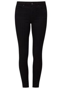 Topshop LEIGH - Jeans Slim Fit - schwarz - Zalando.de