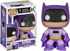 Batman 75th Anniversary Purple Rainbow Batman Pop Vinyl Figure