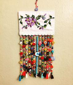 kanaviçe, nazar, nazarlık, handmade, design, amulet, turkish eye, old