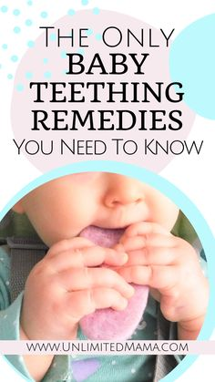 Baby teething symptoms and natural remedies. What are the first signs of teething? Find out in this post and how to sooth a teething baby with the best teethers, teething biscuits and hacks for toys that are perfect teethers. Tips for new moms about what to use and what not to use like teething gel and a teething necklace.   #babyteething #teethingremedies #teethinghacks #teethingsymptoms Baby Teething Symptoms, Teething Signs, Best Teething Toys, Baby Teething Remedies, Teething Gel, Natural Teething Remedies, Natural Remedies, Baby Teething Biscuits, Teeth Correction