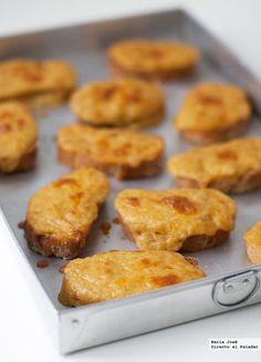 Esta receta de tostadas galesas de Gordon Ramsay la encontré en el último libro de este chef que me compré hace poco y no pude resistirme a prep...