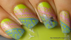 Learn how to stamp with two colors or more!