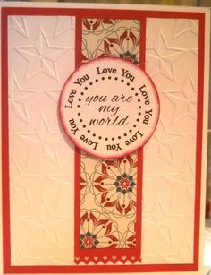 Love card for OWH, CAS, My own Word Art