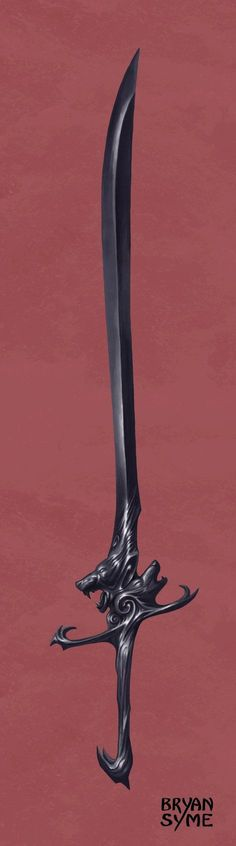 Frost Claw by BryanSyme.:  Looks like the sword a wight Stark family member would use.