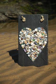 Beachcombing style, Jen Wren's Hearts