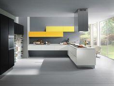 Modern grey kitchen