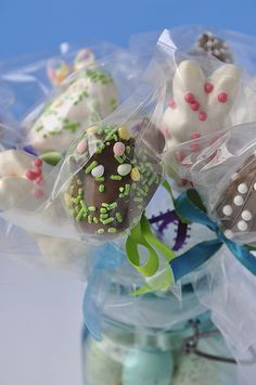 Chocolate Covered Peeps Assortment - Bouquet - How to and other ideas