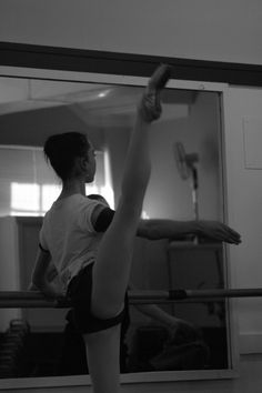 So many girls have good flexibility when stretching, but find it hard to use this when dancing, especially with getting legs higher in a développé.