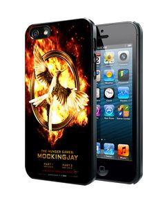 The Hunger Game mockingjay B Samsung Galaxy S3 S4 S5 S6 S6 Edge (Mini) Note 2 4 , LG G2 G3, HTC One X S M7 M8 M9 ,Sony Experia Z1 Z2 Case